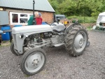 Just one of the vintage tractors on site