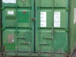 The Container will provide extra secure storage